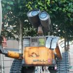 Où se trouve cette statue de Wall-E ?