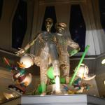 Où peut-on voir ces statues de Riri, Fifi, Loulou en joueur de Hockey ?
